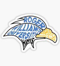 RWU Hawks Sticker