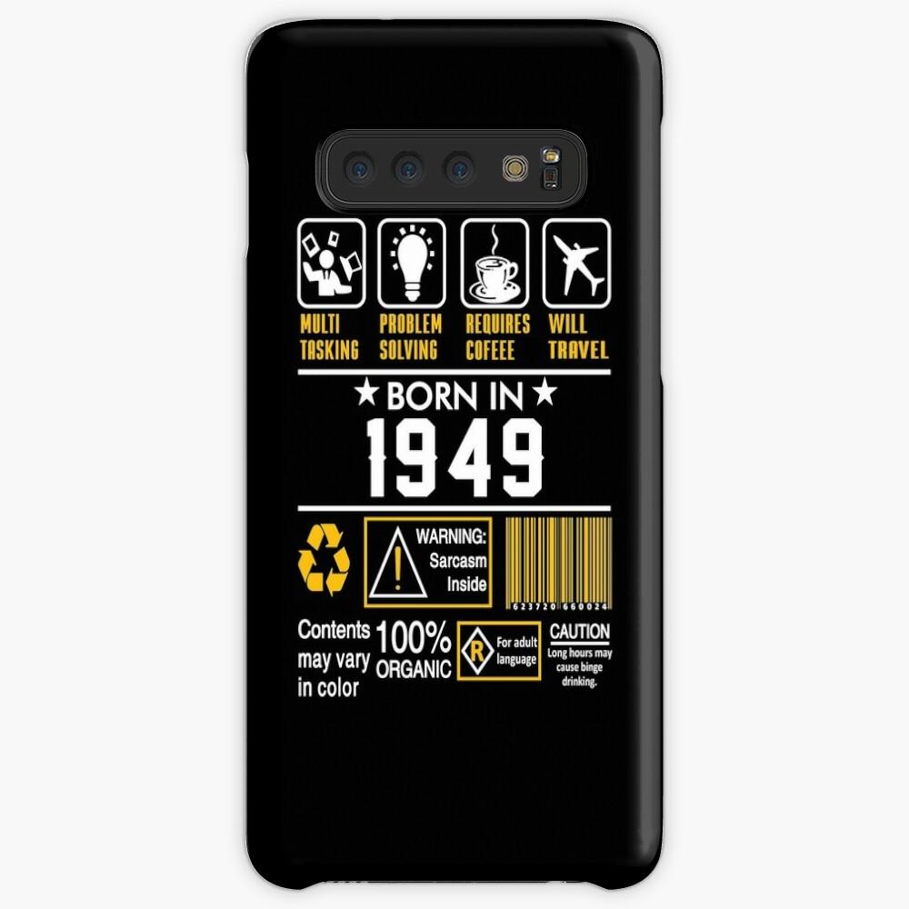 Birthday Gift Ideas - Born In 1949 Case & Skin for Samsung Galaxy