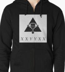 XXYYXX  Zipped Hoodie