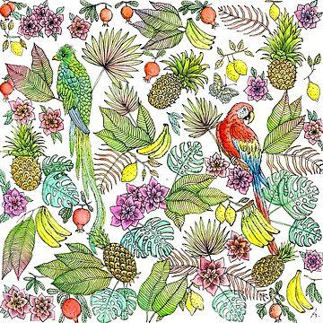 Fruity tropics by MissARobi