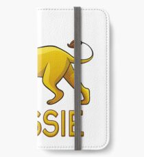 Rossie Lion Drawstring Bags iPhone Wallet/Case/Skin