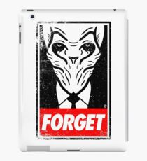 Obey The Silence iPad Case/Skin