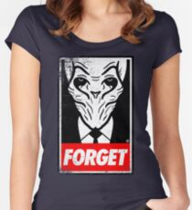 Obey The Silence Women's Fitted Scoop T-Shirt