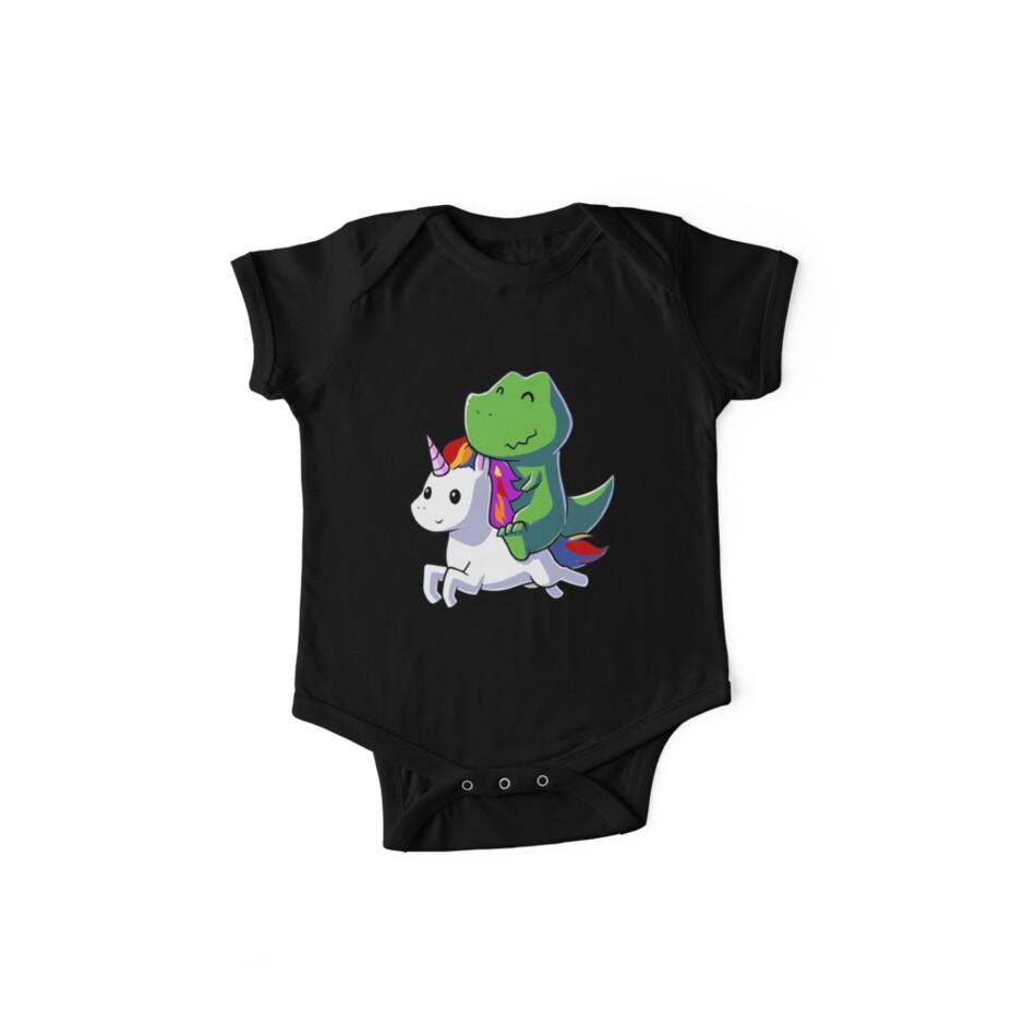 b88a89fa65ced Dinosaur riding Unicorn tshirt - Funny Unicorn Shirt for girls - Gifts for  Kids