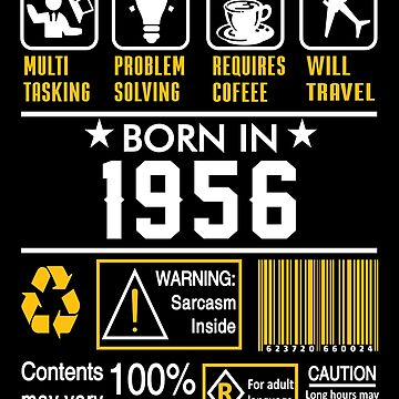 Birthday Gift Ideas - Born In 1956 by wantneedlove