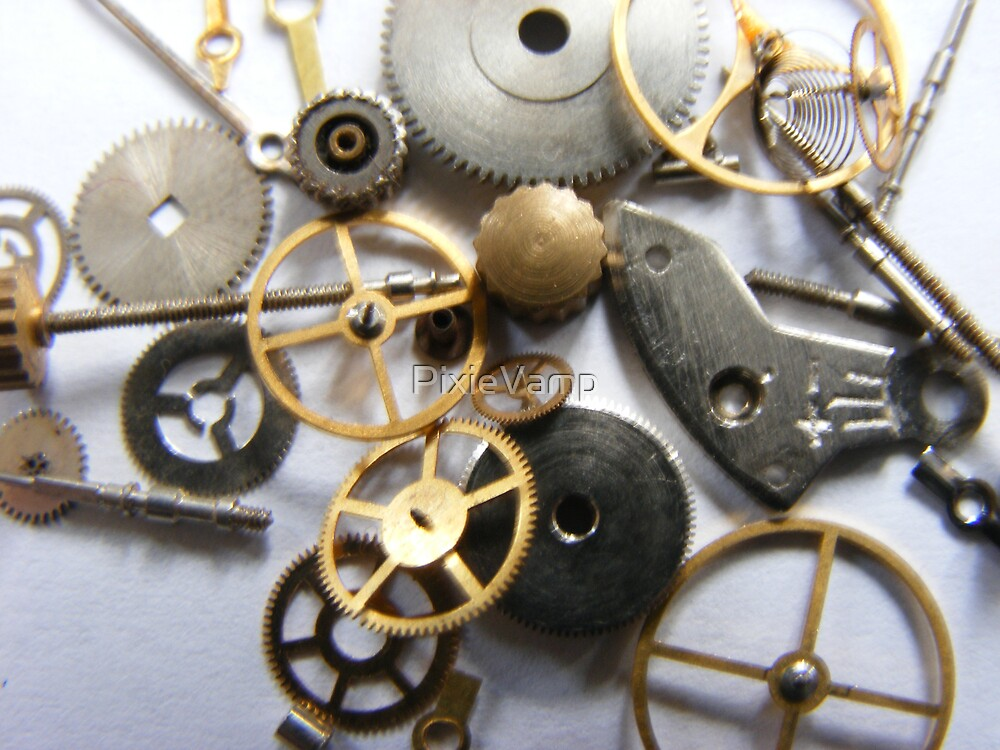 Cogs Of Productivity by PixieVamp