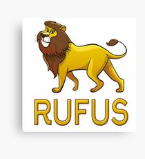 Rufus Lion Drawstring Bags Canvas Print