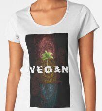 Veganemo change your vision  vegan vegetarien animals environment Women's Premium T-Shirt