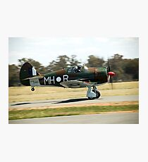 C.A.C  BOOMERANG  RAAF  WW2  Fighter  Aircraft  Photographic Print