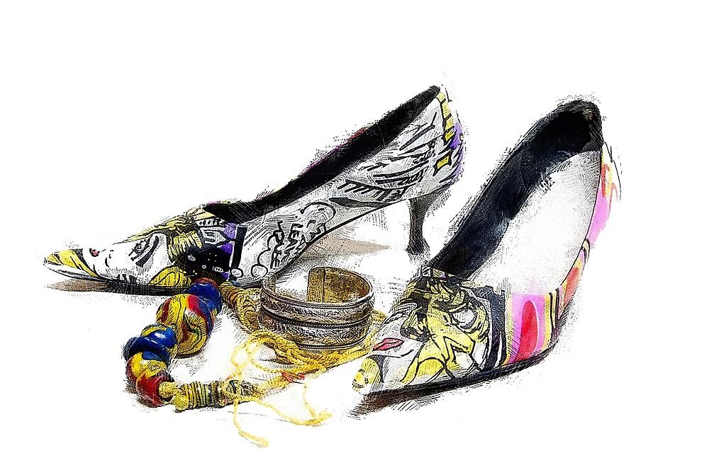 Not so high heels by John Stuart Webbstock