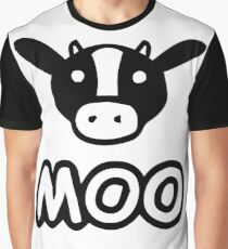 Moo Cow Graphic T-Shirt