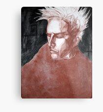 self portrait as sung by joplin Metal Print