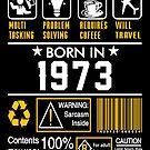 Birthday Gift Ideas - Born In 1973 by wantneedlove