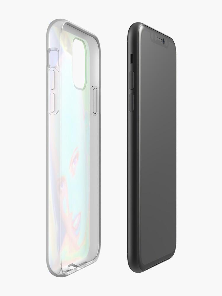 coque iphone initiales | Coque iPhone «Chauve est belle», par JLHDesign
