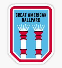 Great American Ballpark Sticker