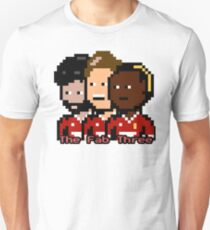 The Fab Three LFC (Pixel) Unisex T-Shirt