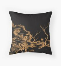 Scorched Throw Pillow