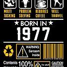 Birthday Gift Ideas - Born In 1977 by wantneedlove