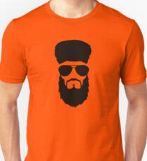 beard muslim face head sunglasses T-Shirt