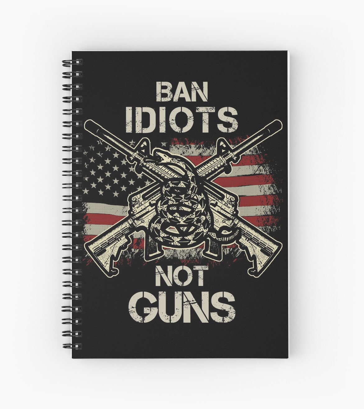 17925afe Funny Ban Idiots Not Guns T Shirt | 2nd Amendment Gun Rights Shirts ...
