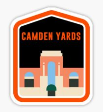 Camden Yards Sticker