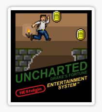 NEStalgia: Uncharted: Drake's Fortune Sticker