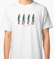 New Girl - Panic Moonwalking Classic T-Shirt