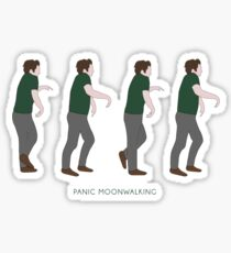 New Girl - Panic Moonwalking Sticker