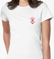 Berserk Logo Women's Fitted T-Shirt