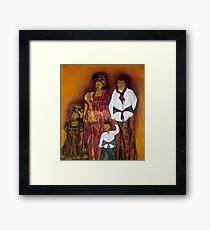 Sawa family Framed Print