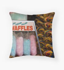 Carnival Confectionary Throw Pillow
