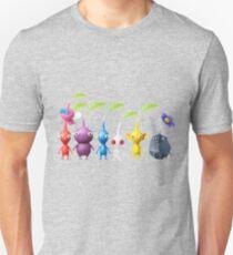 Pikmin-Ebene Slim Fit T-Shirt