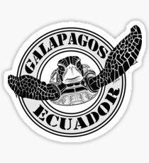 Pegatina Galapagos Sea Turtle