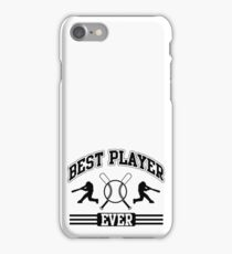 Best player ever iPhone Case/Skin