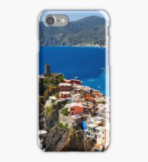 Cinque Terre Town on a Rock iPhone Case/Skin