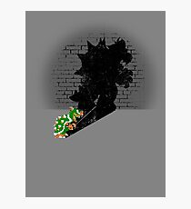 Becoming a Legend - Bowser Photographic Print