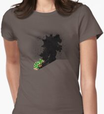 Becoming a Legend - Bowser Women's Fitted T-Shirt