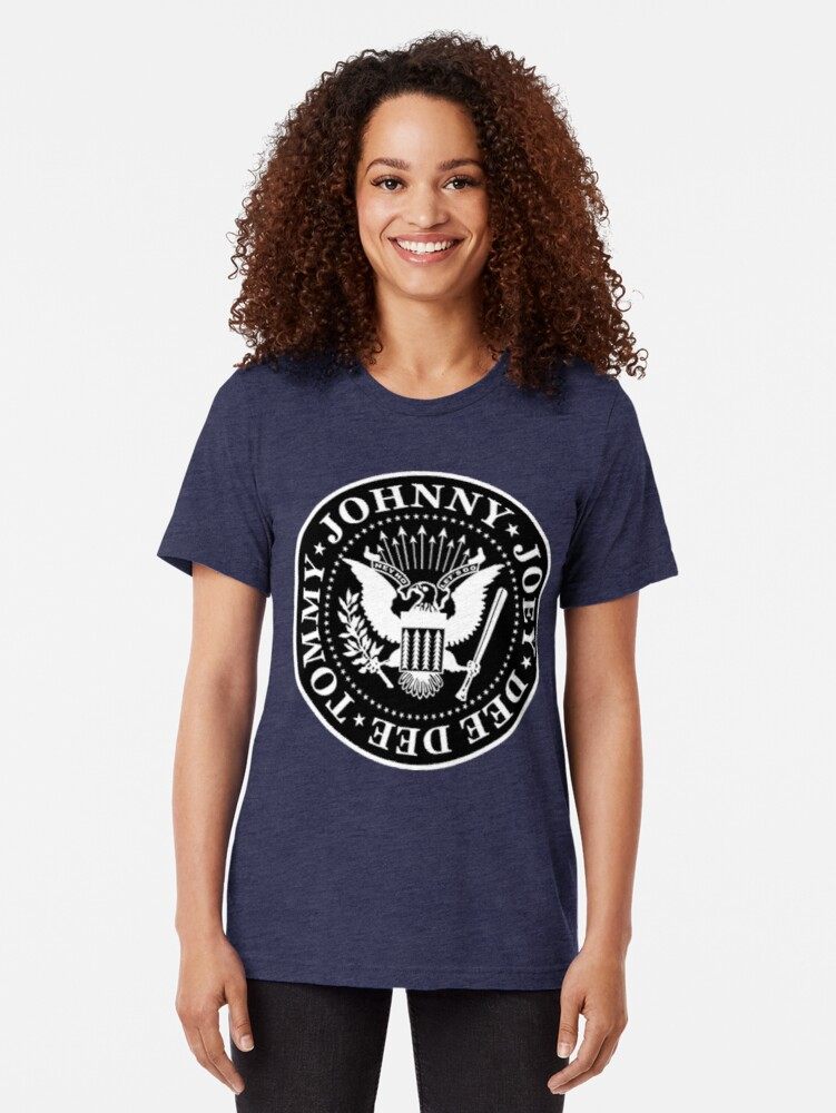 Alternate view of The Ramones Tri-blend T-Shirt