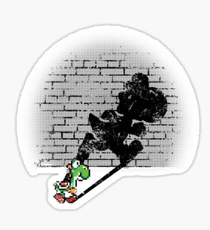 Becoming a Legend - Yoshi Sticker