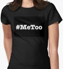 #metoo Women's Fitted T-Shirt
