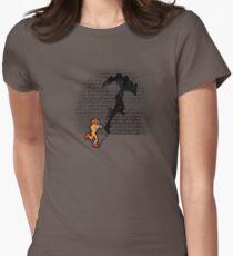 Becoming a Legend- Samus Aran Women's Fitted T-Shirt