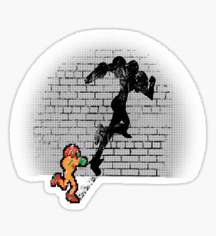 Becoming a Legend- Samus Aran Sticker
