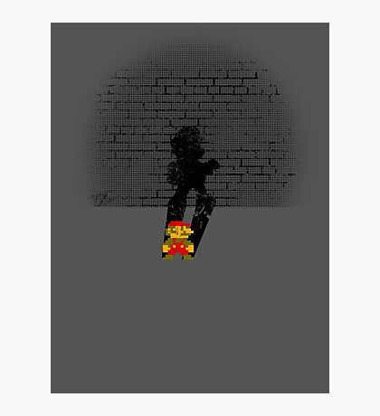 Becoming a Legend- Mario Photographic Print