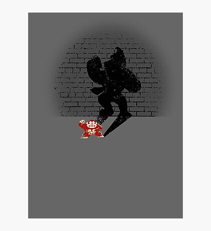Becoming a Legend- Donkey Kong Photographic Print