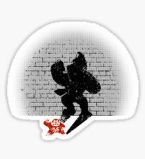 Becoming a Legend- Donkey Kong Sticker