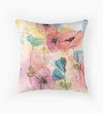 Wild Garden Floor Pillow