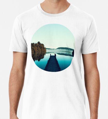 Düsteres Dock Premium T-Shirt