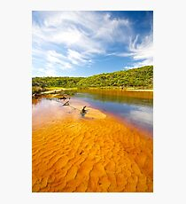 Thurra River - Croajingolong National Park - Victoria - Australia Photographic Print