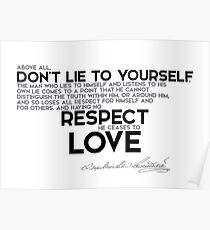 Quotes About Respect Yourself Gifts Merchandise Redbubble