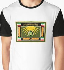 Ceremonial Flag of the Iranian Army  Graphic T-Shirt